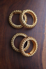 Lakshmi Coin Set of 2 Kada Bangles