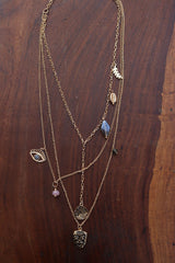 Evil eye Layer Necklace