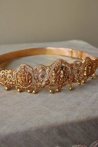 Stunning AD Two Design Lakshmi Waist Belt