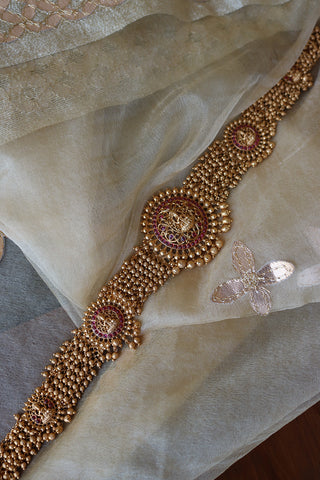 Ruby Lakshmi Cluster Belt