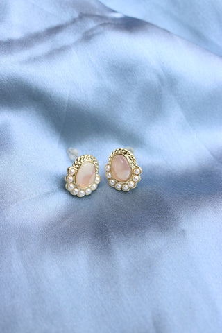 Marble Pearl Studs