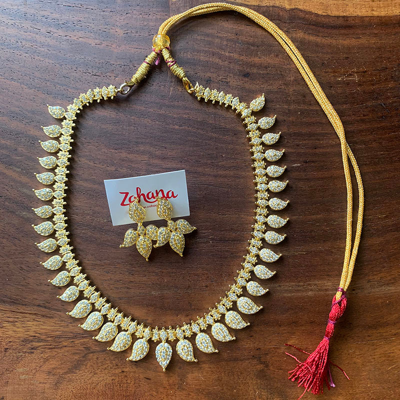 AD Paisley Short Necklace