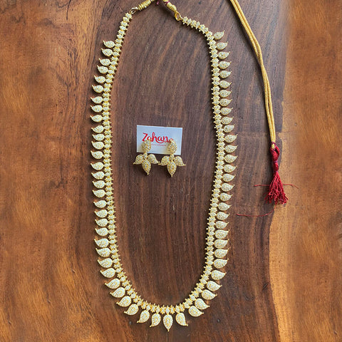AD Paisley Long Necklace