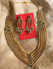 Stunning AD Layered Necklace