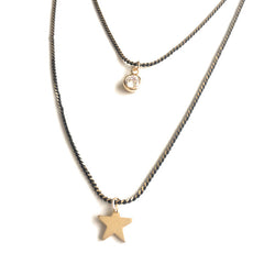 Two Layer Star Mid Length Chain