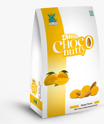 JUMBO MANGO MILK CHOCO NUTTY 100G TREAT PACK