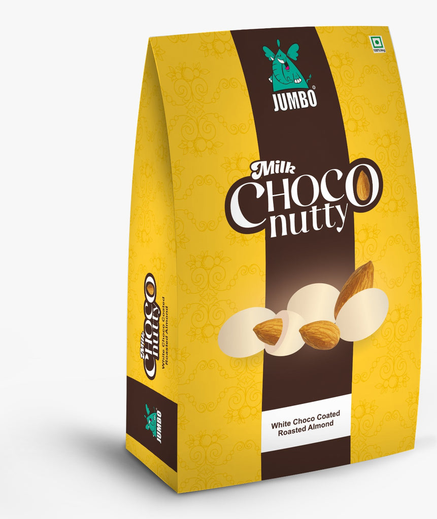 JUMBO WHITE MILK CHOCO NUTTY 100G TREAT PACK