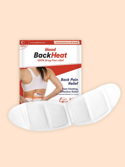backheat, heat patch for back pain relief