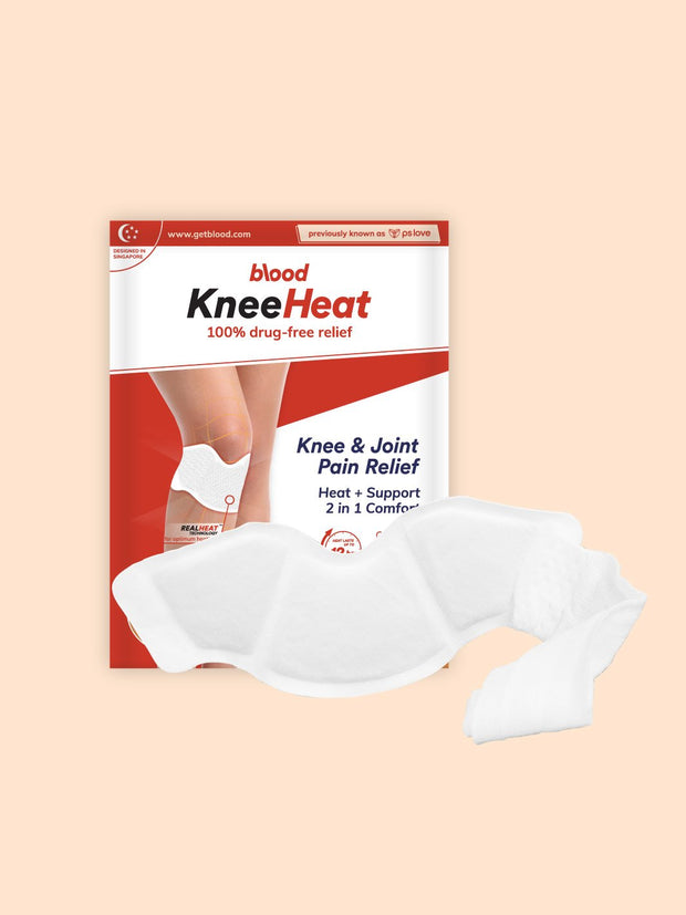 kneeheat, heat patch for knee & joint pain relief
