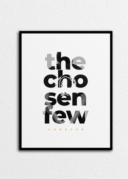"16"" x 20"" The Chosen Few Wall Print"