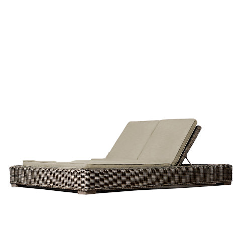 Double Comfort Found Chaise Lounge