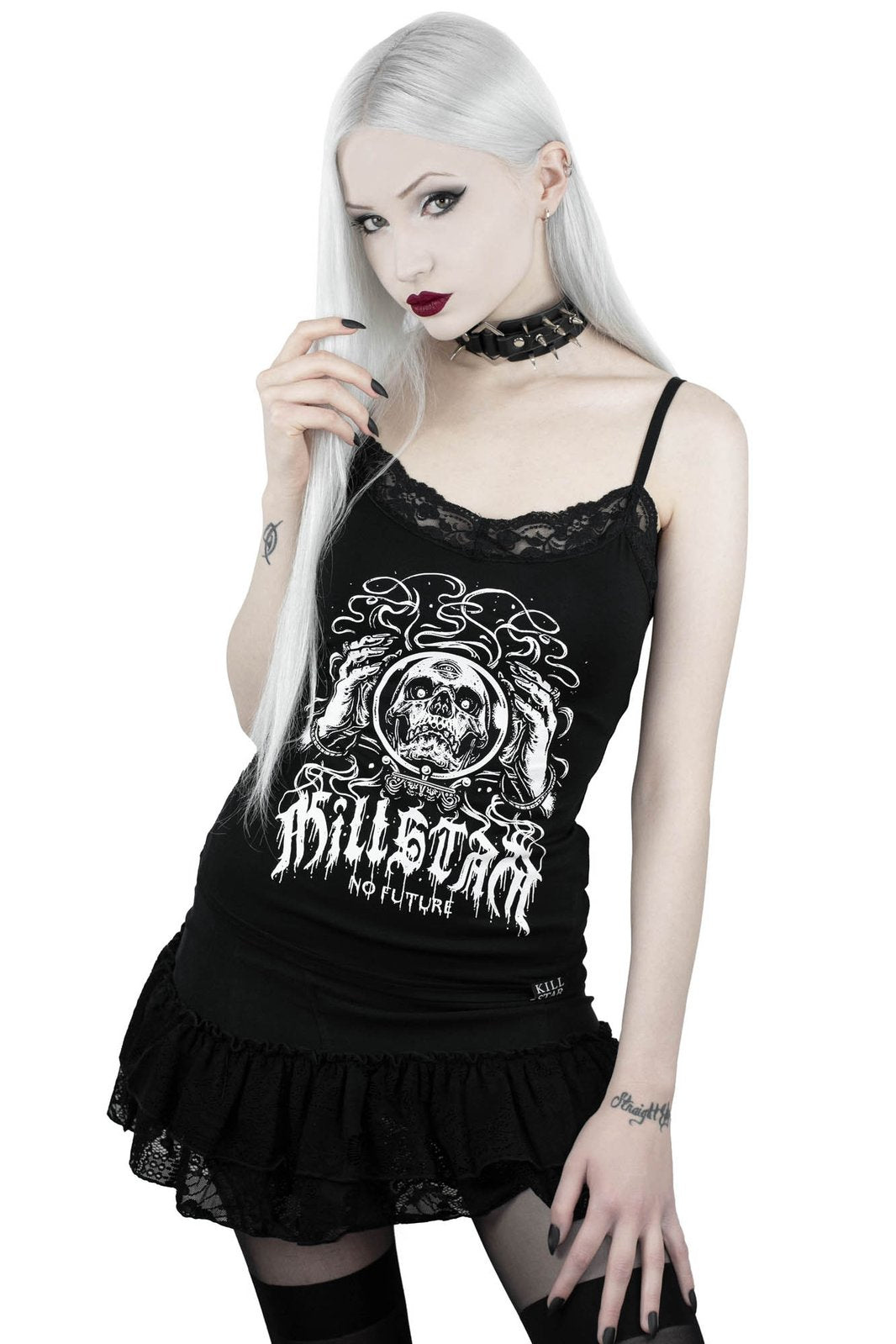KILLSTAR Clairvoyant Strappy Top