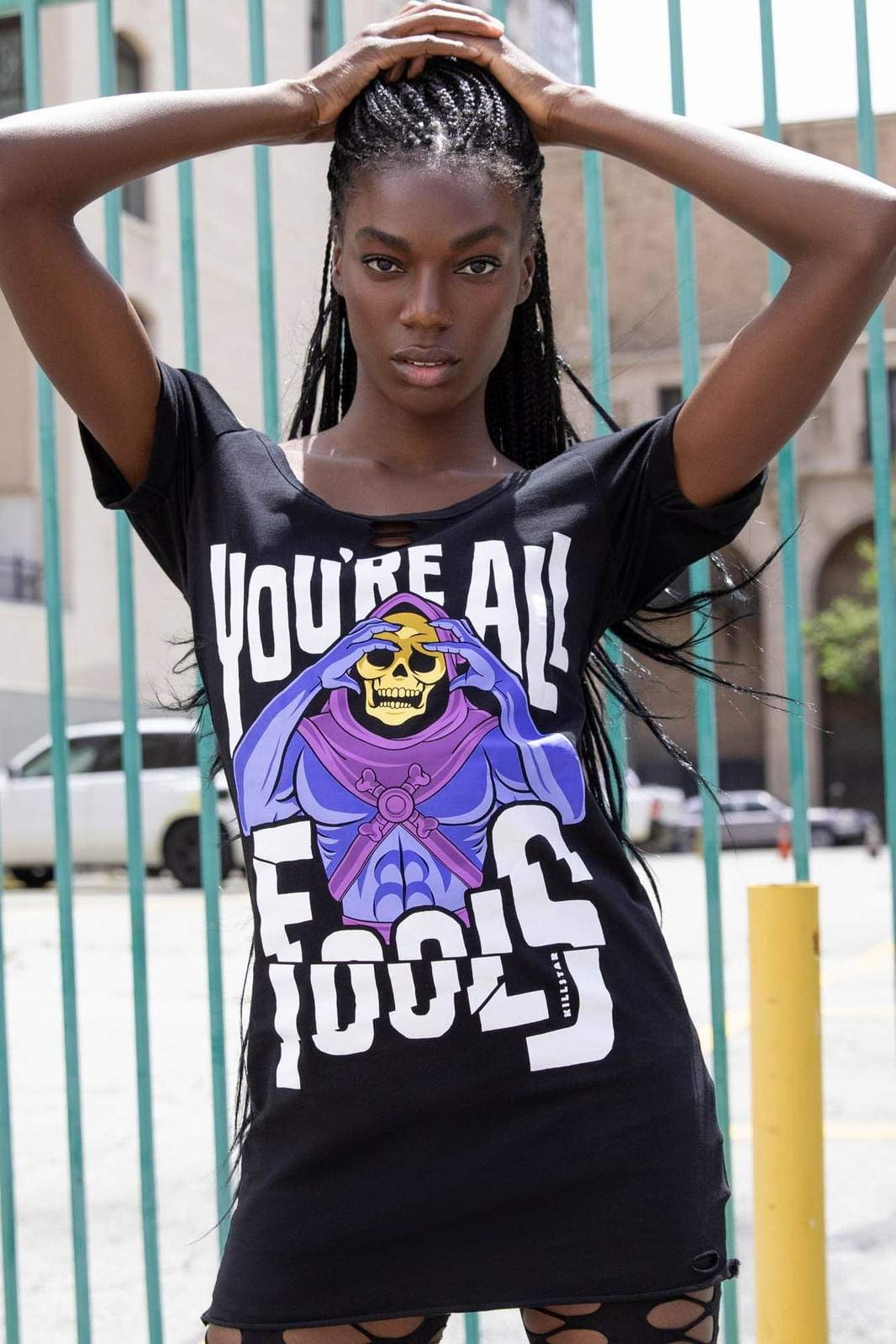 KILLSTAR Fools Distress Top