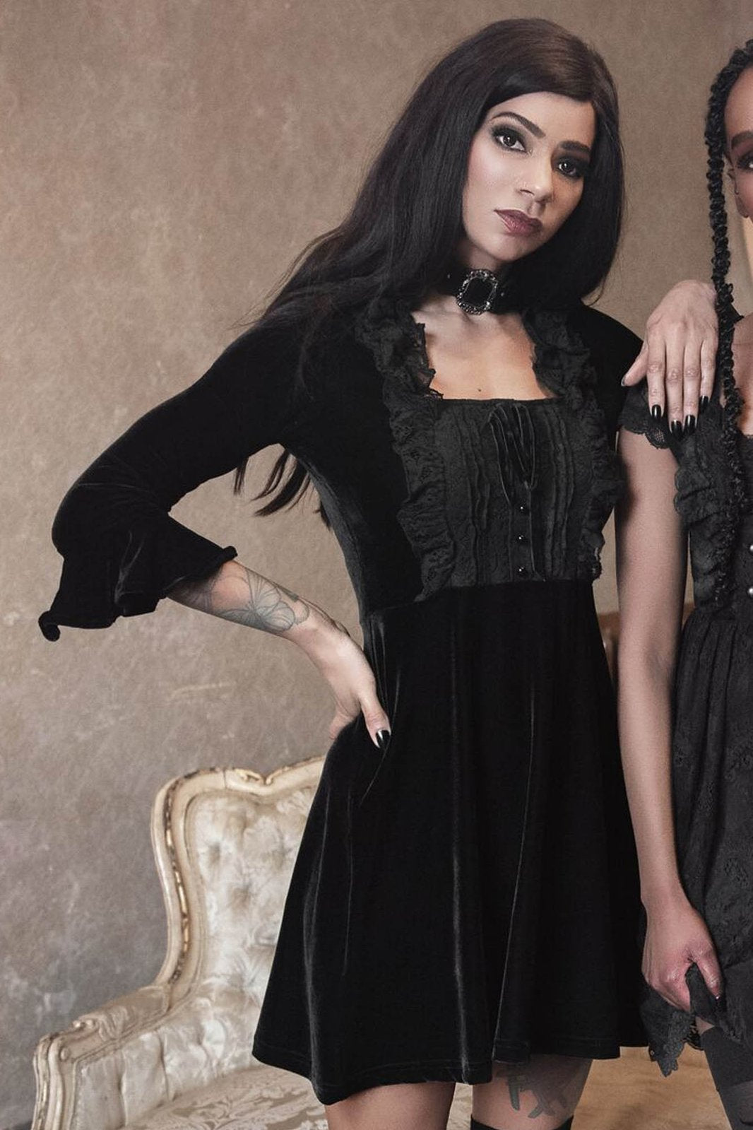 KILLSTAR Laid To Rest Shift Dress