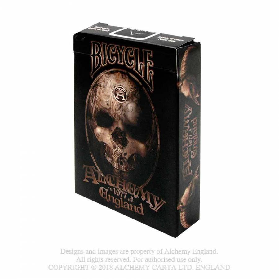 Paquet de cartes Poker Gothique Alchemy Gothic