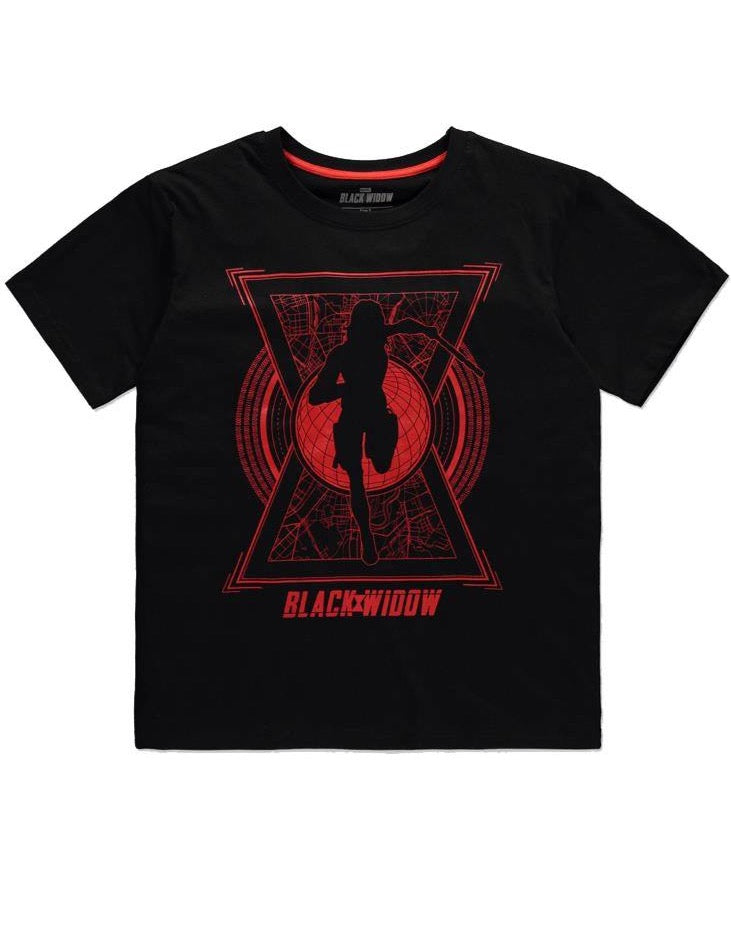 T-Shirt Black Widow World Saviour