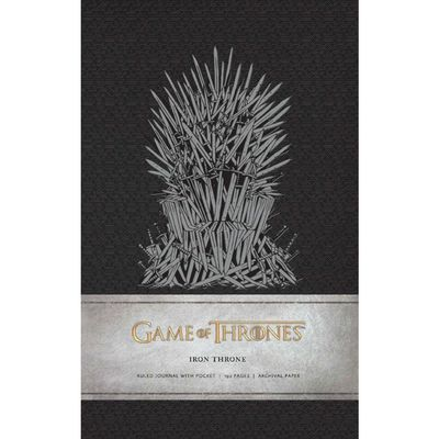 Carnet de notes Le Trône de fer Iron Throne