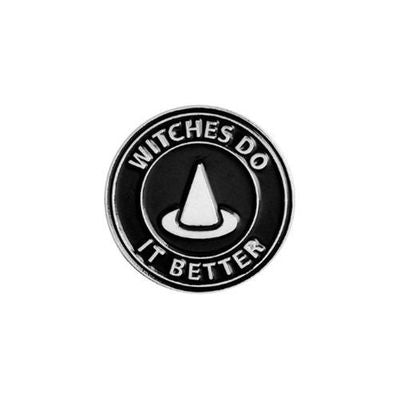 "Pin's / Broche Gothique ""Witches do it Better"""