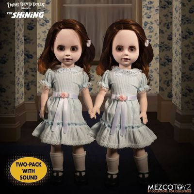 Pack poupées sonores Living Dead Dolls Shining The Grady Twins