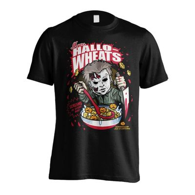 T-shirt Halloween Hallowheats Cereal