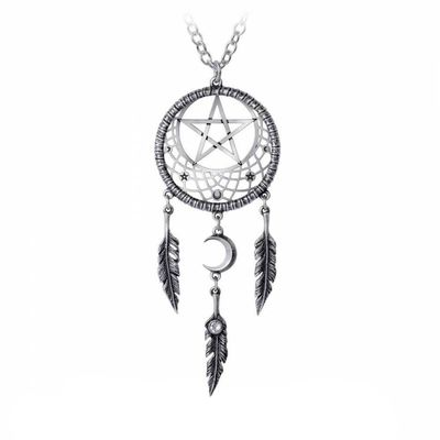 "Collier Alchemy Gothic ""Pagan Dream Catcher"""