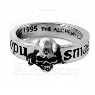 "Bague Alchemy Gothic ""The Great Wish"""