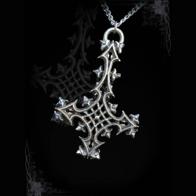 "Collier Gothique Arcana XIII ""Whispers of Dargate Inverted"""