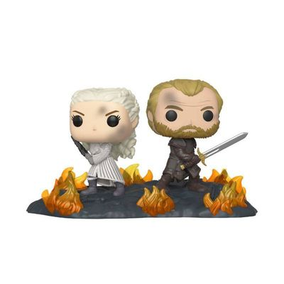 Figurines Game of Thrones pack 2 POP Moment! Vinyl Daenerys & Jorah