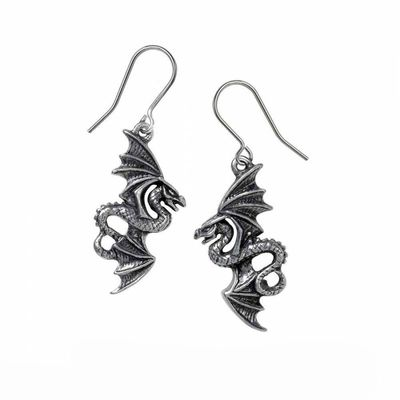 "Boucles d'oreilles Alchemy Gothic ""Flight of Airus"""