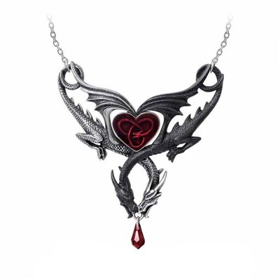 "Collier Alchemy Gothic ""The Confluence of Opposites"""