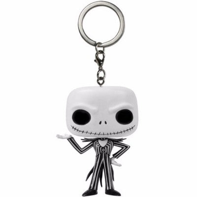 L'étrange Noël de Mr. Jack porte-clés Pocket POP Vinyl Jack Skellington