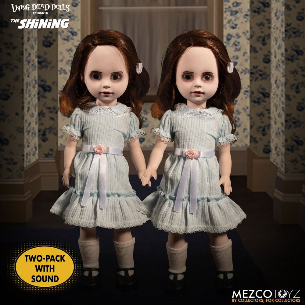 Pack Poupées Shining Living Dead Dolls The Grady Twins