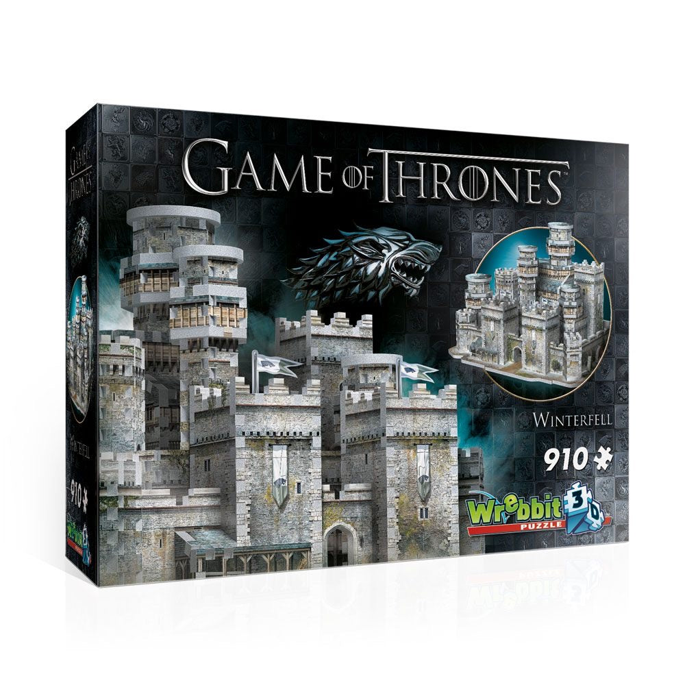 Puzzle gothique 3D Game Of Thrones Winterfell