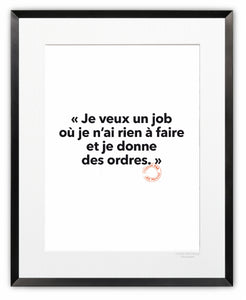 16 - Je veux un job - Collection Entendu par Loïc Prigent