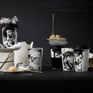 Pattern 3 - Coupelle en Porcelaine - Collection Cilla Marea