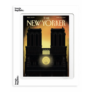 194 Staake - Notre-Dame - Collection The New Yorker