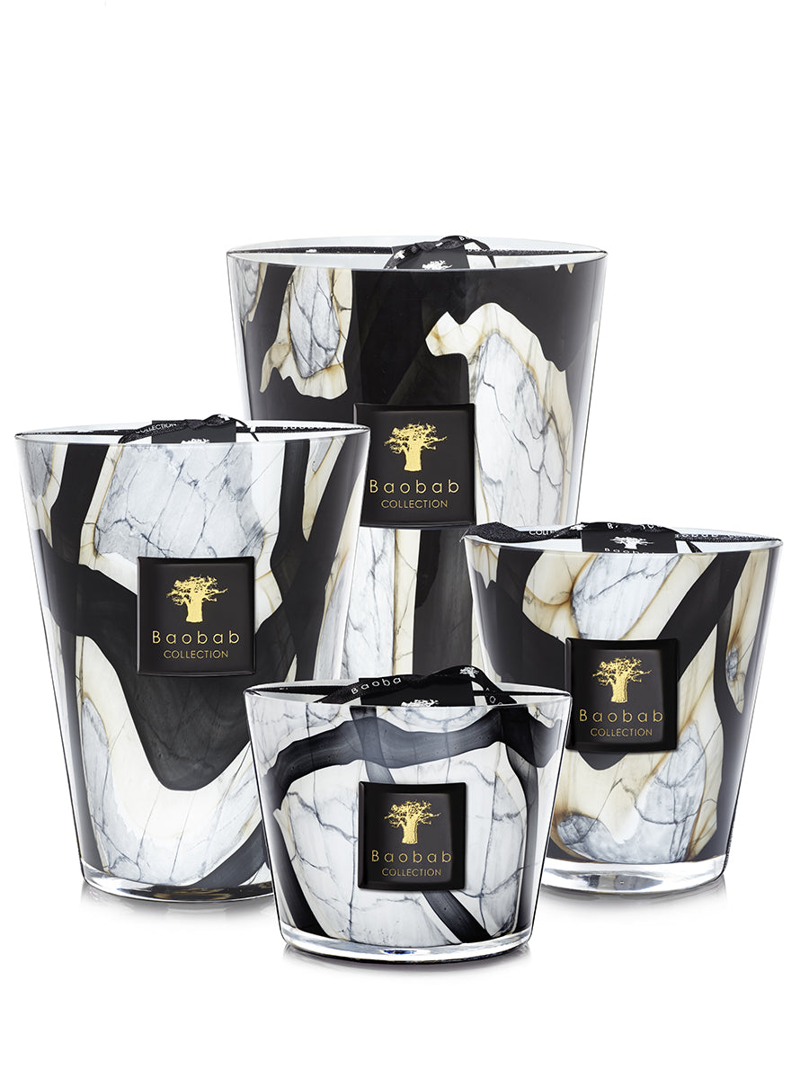 Marble - Bougie Parfumée - Collection Stones