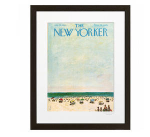 161 Birnbaum - Families At The Beach - Collection The New Yorker