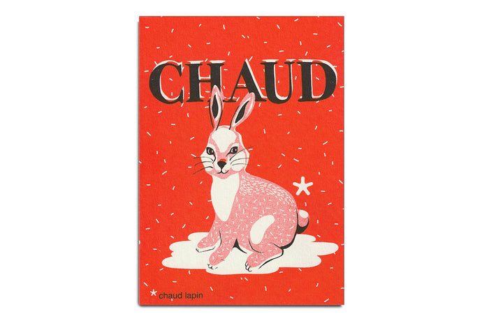 Chaud Lapin - Carte postale collection
