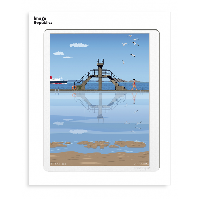 illustration par Paulo Mariotti - Saint Malo