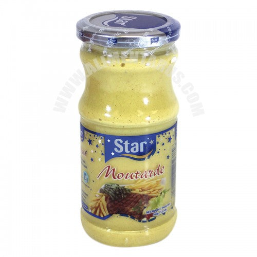 STAR Moutarde 330ml BOCAL (Mustard)