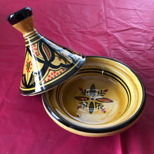 Load image into Gallery viewer, Mini Tajine Décoratif 14cm  (DECORATED MINI TAGINE)