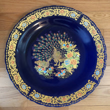 Load image into Gallery viewer, Plat céramique TAOUS 42cm (Ceramic Plate Taous) - Blue