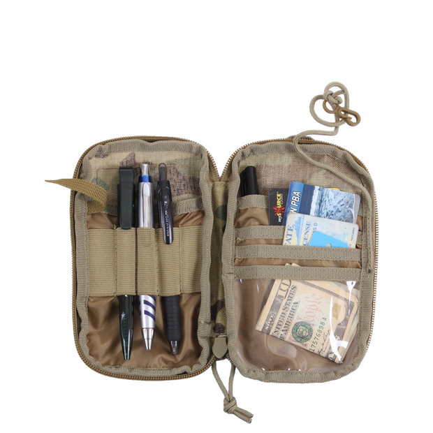 Tactical MOLLE EDC Wallet and Phone Pouch