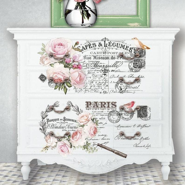 "Hokus Pokus Rub-On Furniture Transfer - Ville De Saint - 23"" x 33"" - Knot 2 Shabby"