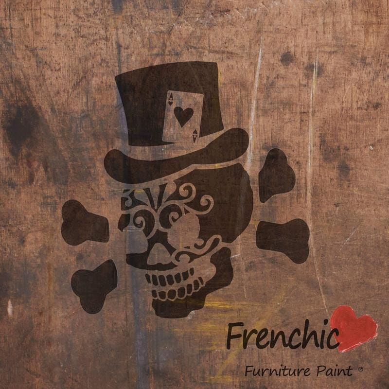 Frenchic - Gambling Jack Stencil - Knot 2 Shabby Uk