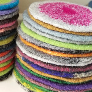 Felted Wool Trivets