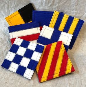 International Maritime Signal Flag Coasters