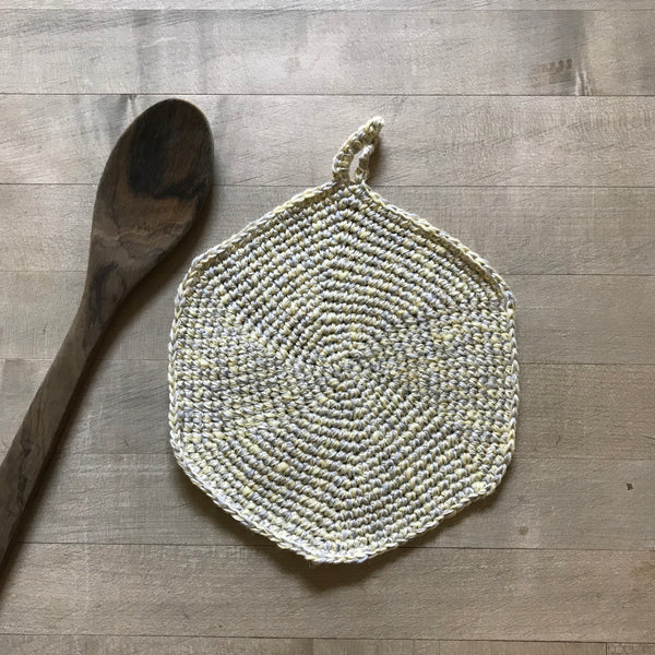 Linen and Cotton Dishcloth