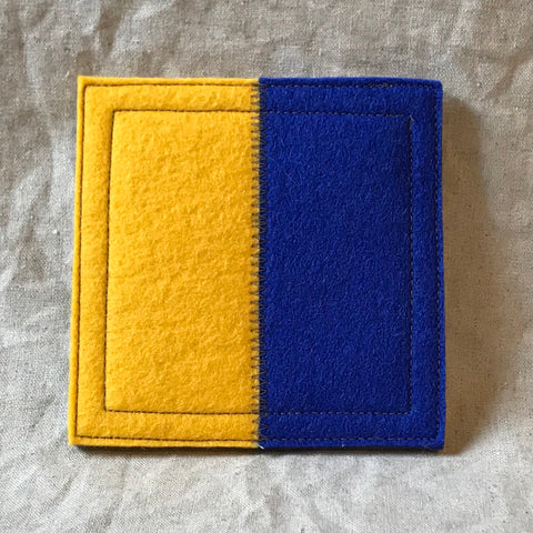 International Maritime Signal Flag Coaster K